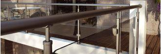 Ανοδιωμένα Συστήματα Καγκέλων Αλουμινίου Mak System