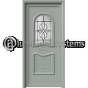 Πόρτες με διακοσμητικές ασφάλειες