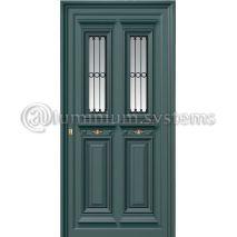 Παραδοσιακή Πόρτα Αλουμινίου 1210