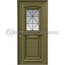 Παραδοσιακή Πόρτα Αλουμινίου 170