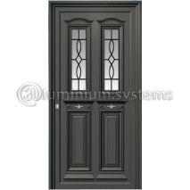 Παραδοσιακή Πόρτα Αλουμινίου 250