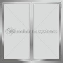 Δίφυλλο Ανοιγόμενο Τζαμιλίκι  Aluminco Al540-401