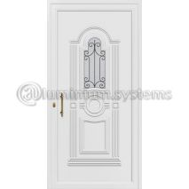 Παραδοσιακή Πόρτα εισόδου pvc 8324