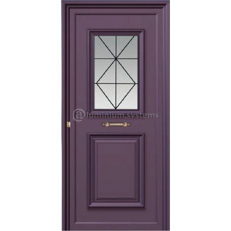 Παραδοσιακή Πόρτα Αλουμινίου 1171