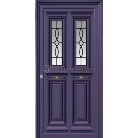 Παραδοσιακή Πόρτα Αλουμινίου 1250