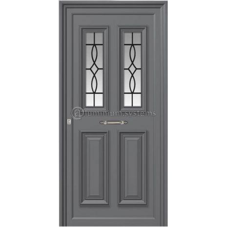 Παραδοσιακή Πόρτα Αλουμινίου 1251