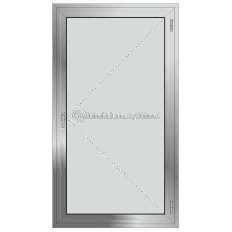 Μονόφυλλο  Ανοιγόμενο Τζαμιλίκι Aluminco Al540-201