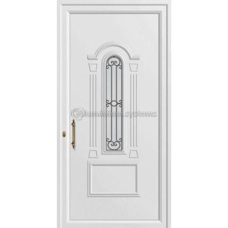 Παραδοσιακή Πόρτα εισόδου pvc 8304