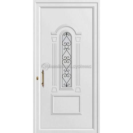 Παραδοσιακή Πόρτα εισόδου pvc 8305