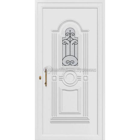 Παραδοσιακή Πόρτα εισόδου pvc 8323