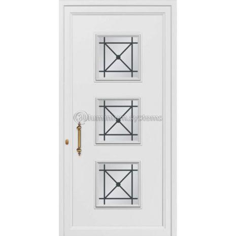 Παραδοσιακή Πόρτα εισόδου pvc 8342