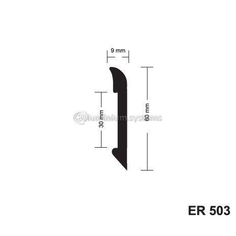 Σοβατεπί pvc ER503