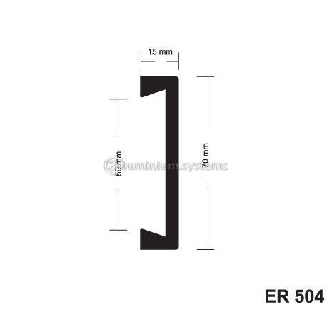 Σοβατεπί pvc ER504