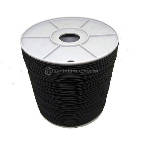 Κορδόνι Για Σίτες Plisse Vectran (Ανθρακόνημα) Σε Συσκευασία 1000 Μέτρα MITSOPOULOS